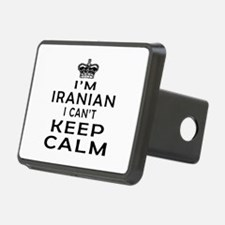 I Am Iranian I Can Not Keep Calm Hitch Cover