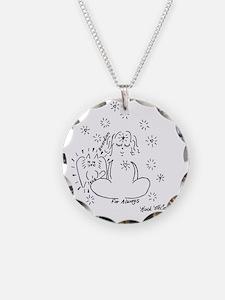 Guardian Angel Cat Necklace