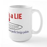 Bush LIE Large Mug