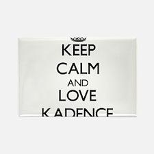 Keep Calm and Love Kadence Magnets