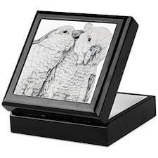 Cockatoos Keepsake Box