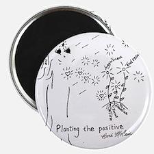 Planting the Positive Keepsake Magnet