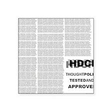 """HDCP Back Square Sticker 3"""" x 3"""""""