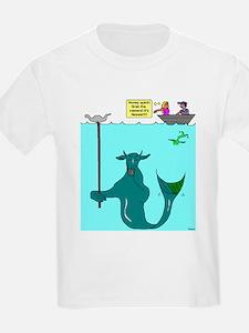 Winter Steel 'Nessie Sighting' Kids T-Shirt