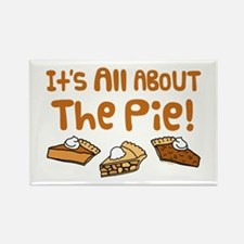 It's All About The Pie Rectangle Magnet (10 pack)