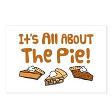 It's All About The Pie Postcards (Package of 8)