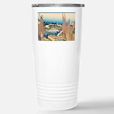 Hokusai Honjo Tatekawa Travel Mug