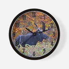 Big Maine Bull Wall Clock