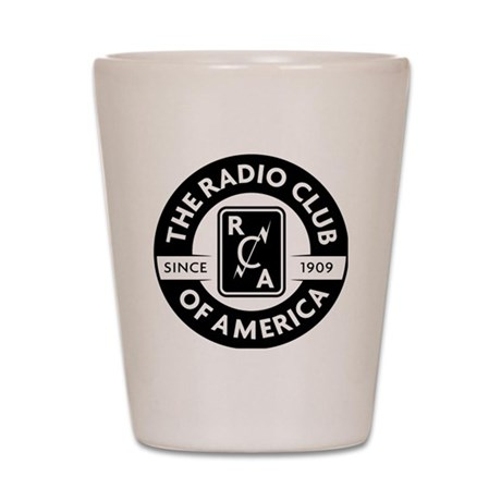 Radio Club of America Shot Glass