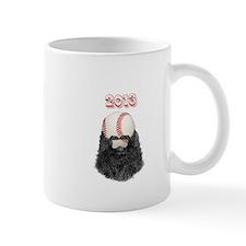 2013 Bearded Baseball Mug