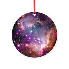 Cute Milky way galaxy Ornament (Round)