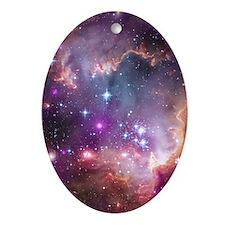 Unique Milky way galaxy Ornament (Oval)