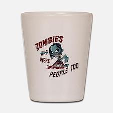 zombie---- Shot Glass