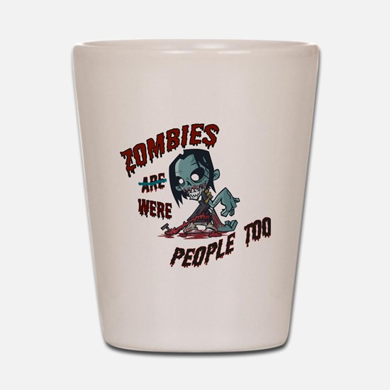 zombie---- Shot Glass
