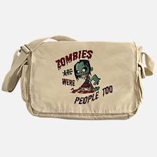 zombie---- Messenger Bag