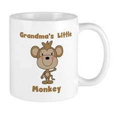 Grandma's Little Monkey Mug