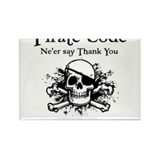 Pirate Thank You Magnets