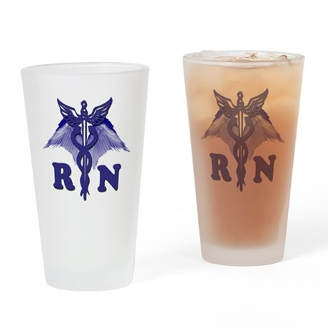 rn cad copy Drinking Glass