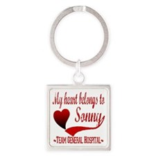 GH sonny copy Square Keychain