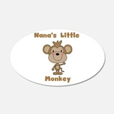 Nana's Little Monkey Wall Decal