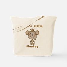 Nana's Little Monkey Tote Bag
