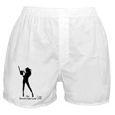 TshirtChickLogoTitle Boxer Shorts