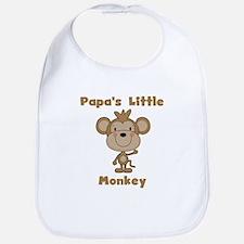 Papa's Little Monkey Bib