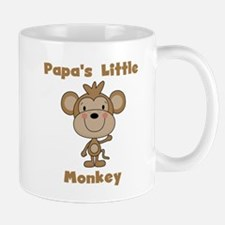 Papa's Little Monkey Mug