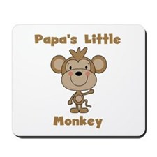 Papa's Little Monkey Mousepad