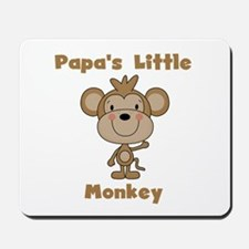 Papa's Little Monkey Mousepad