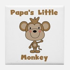 Papa's Little Monkey Tile Coaster