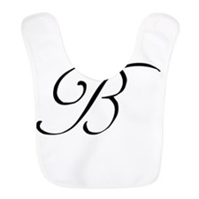 Wedding Monogram B Bib