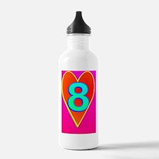 2-LUV8(oval portrait) Water Bottle