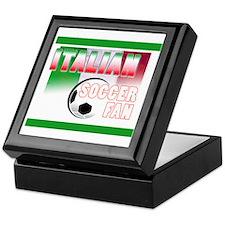 Italian Soccer Fan!! Keepsake Box