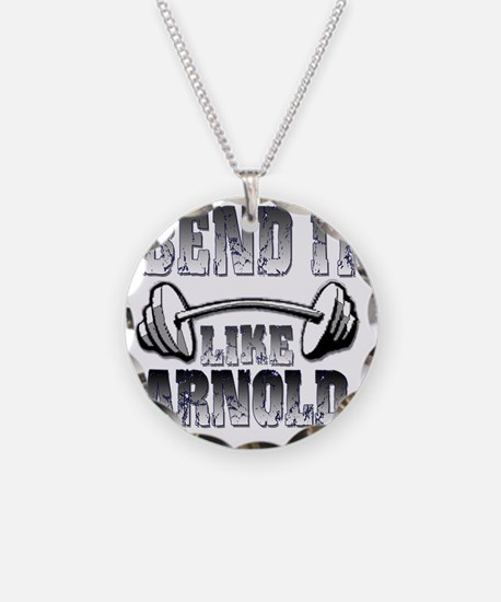 Bend it png Necklace