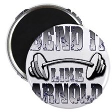 Bend it png Magnet