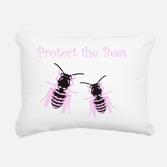 PTB B Rectangular Canvas Pillow