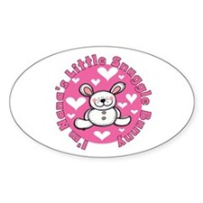 Nana's Snuggle Bunny Decal