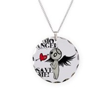emo angel Necklace