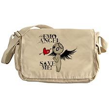 emo angel Messenger Bag