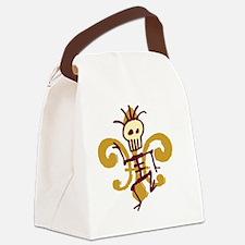 DatBonesFleurtra Canvas Lunch Bag
