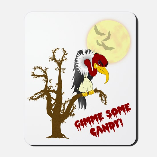 BuzzardHallowshirt_Light1 Mousepad