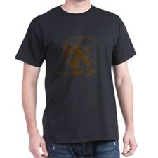 DaVinciSkull_brown T-Shirt