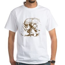 DaVinciSkull_brown Shirt