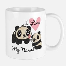 Pandas I Love Nana Mug