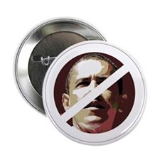 """ObamaX_large 2.25"""" Button"""