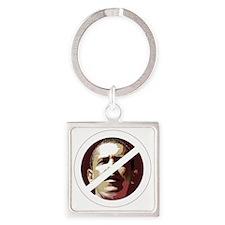 ObamaX_large Square Keychain