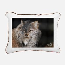 Canadian Lynx I Rectangular Canvas Pillow