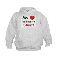 My heart belongs to stuart Hoody