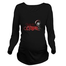 Due In October Long Sleeve Maternity T-Shirt